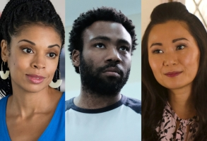 Susan Kelechi Watson, Donald Glover, and Hong Chau best actors 2018