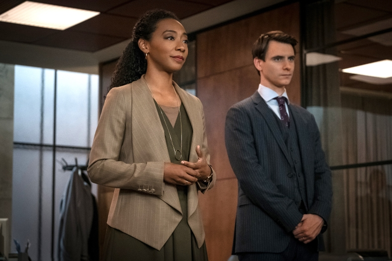 "Betty Gabriel and Harry Lloyd, ""Counterpart"""