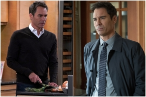 """Eric McCormack in """"Will & Grace"""" and """"Travelers."""""""