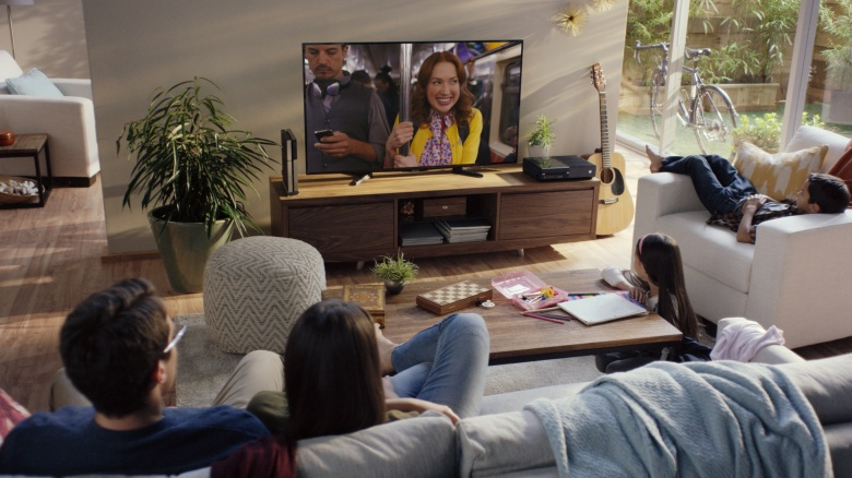 People watching Netflix