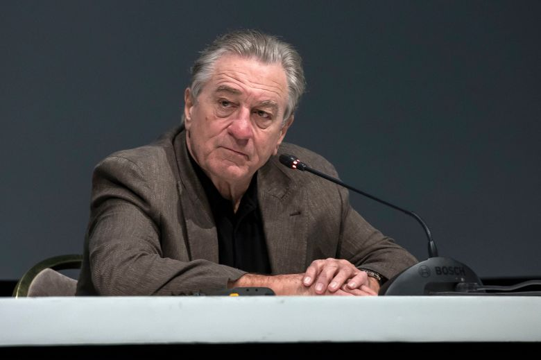 Robert de Niro attends a press conference at the 17th annual Marrakech International Film Festival, in Marrakech, Morocco, 02 December 2018. The festival runs from 30 November to 08 December.Robert de Niro Press Conference - Marrakech International Film Festival, Marrakesh, Morocco - 02 Dec 2018