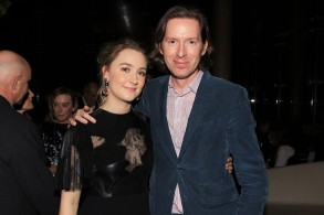 Saoirse Ronan and Wes Anderson'Brooklyn' film screening, New York, America - 07 Oct 201553rd Nyff Presents a Screening of Fox Searchlight Pictures 'Brooklyn' - Pre-Reception
