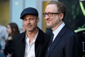 "Brad Pitt, left, and director/writer/producer James Gray arrive at the Los Angeles premiere of ""The Lost City of Z"" at the ArcLight Hollywood onLA Premiere of ""The Lost City of Z"" - Arrivals, Los Angeles, USA - 5 Apr 2017"