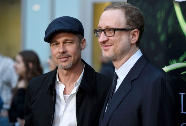 Brad Pitt left and directorwriterproducer James Gray arrive at the Los Angeles premiere of The Lost City of Z at the ArcLight Hollywood onLA Premiere of The Lost City of Z - Arrivals Los Angeles USA - 5 Apr 2017