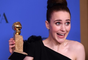 Rachel Brosnahan - Best Performance by an Actress in a Television Series, Musical or Comedy - 'The Marvelous Mrs. Maisel'75th Annual Golden Globe Awards, Press Room, Los Angeles, USA - 07 Jan 2018