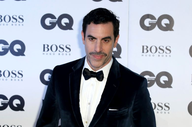 Sacha Baron Cohen poses for photographers on arrival at the 'GQ Men of The Year' AwardsBritain GQ Men Of The Year Awards 2018, London, United Kingdom - 05 Sep 2018