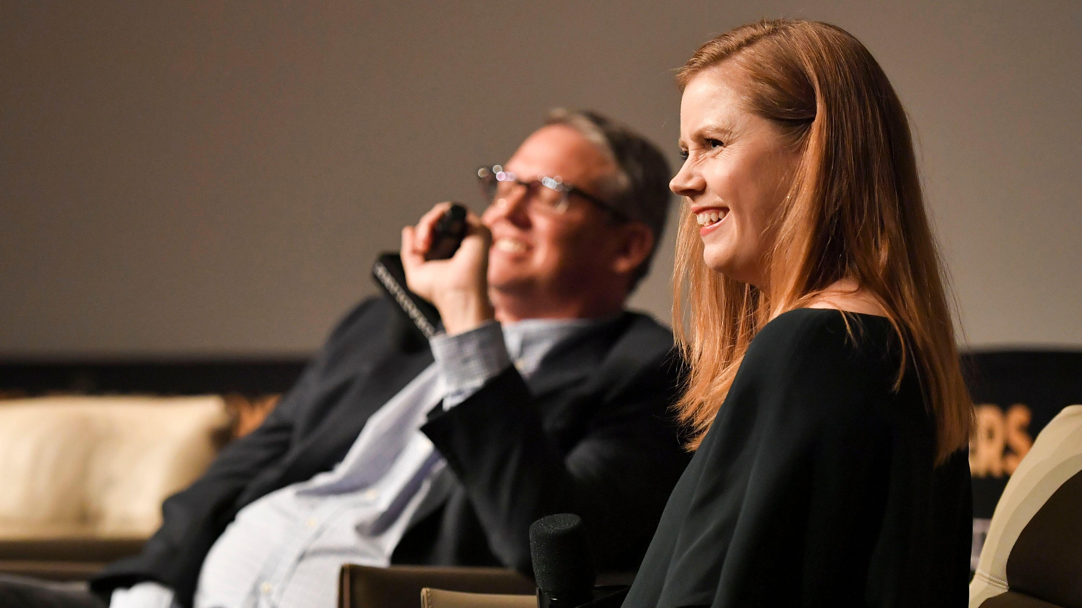Adam McKay and Amy AdamsDeadline Contenders, Panels, Los Angeles, USA - 03 Nov 2018