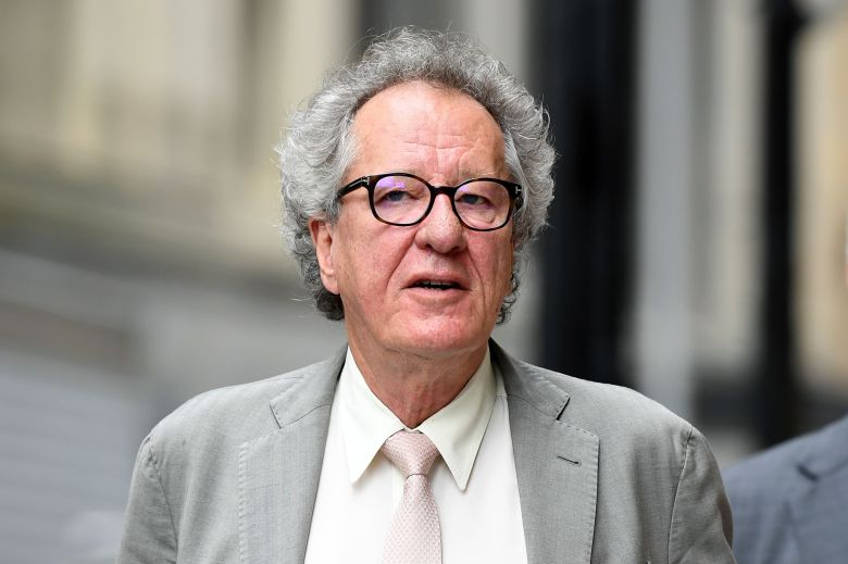 Australian actor Geoffrey Rush arrives at the Federal Court in Sydney, New South Wales, Australia, 06 November 2018. Rush is suing Nationwide news for defamation.Australian actor Geoffrey Rush at court, Sydney, Australia - 06 Nov 2018