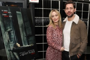 Emily Blunt and John KrasinskiReception for a Special Screening of Paramount Pictures' Film 'A Quiet Place', New York, USA - 12 Nov 2018