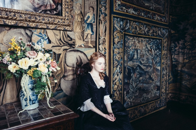 Emma Stone in the film THE FAVOURITE. Photo by Yorgos Lanthimos. © 2018 Twentieth Century Fox Film Corporation All Rights Reserved