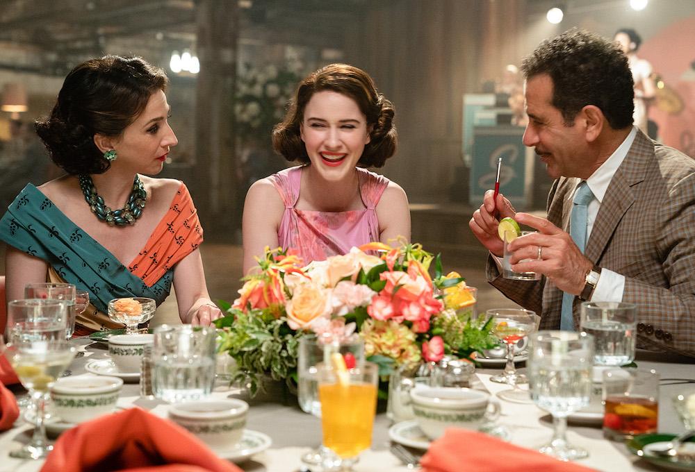 The Marvelous Mrs. Maisel Season 2 Marin Hinkle Rachel Brosnahan Tony Shaloub
