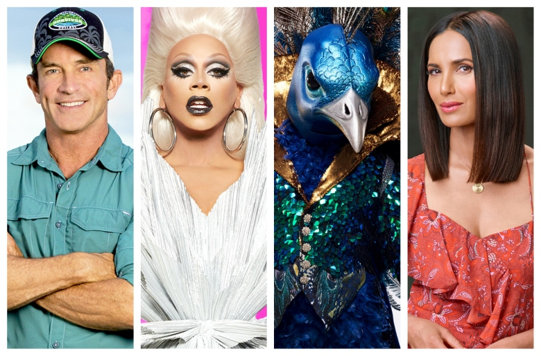 """Survivor,"" ""RuPaul's Drag Race,"" ""The Masked Singer,"" ""Top Chef"""