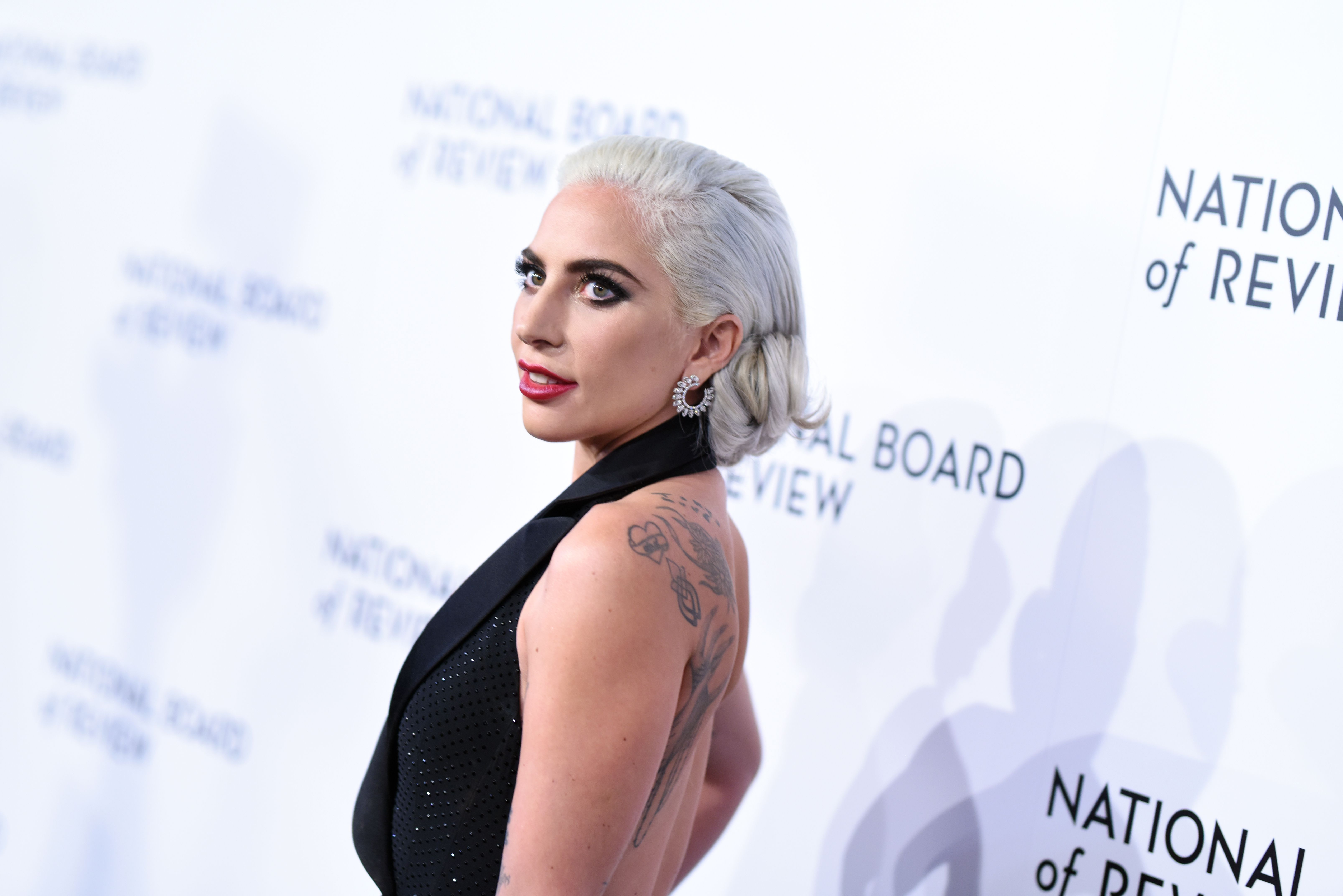 Lady GagaNational Board of Review Awards Gala, Arrivals, New York, USA - 08 Jan 2019