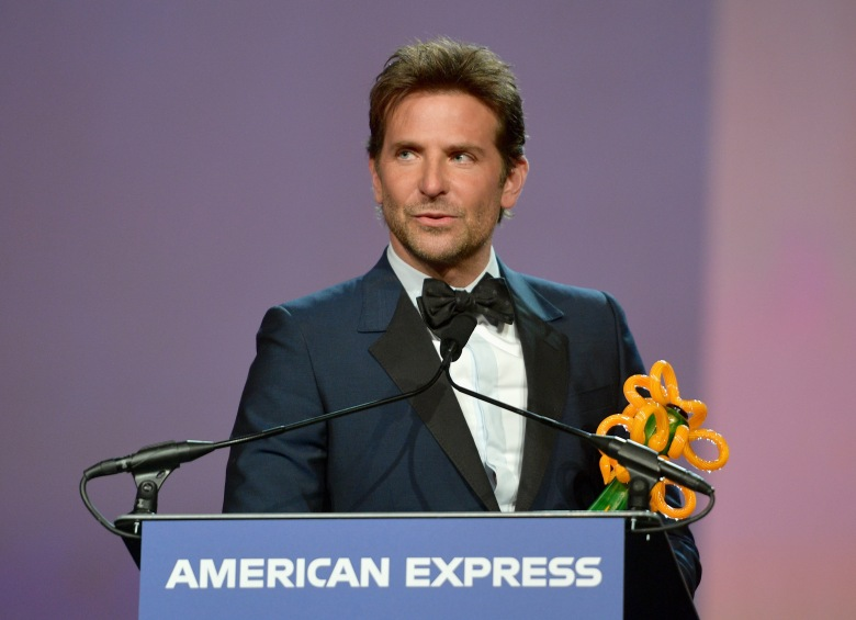 PALM SPRINGS, CA - JANUARY 03:  Bradley Cooper accepts the Director of the Year Award onstage at the 30th Annual Palm Springs International Film Festival Film Awards Gala at Palm Springs Convention Center on January 3, 2019 in Palm Springs, California.  (Photo by Matt Winkelmeyer/Getty Images for Palm Springs International Film Festival )