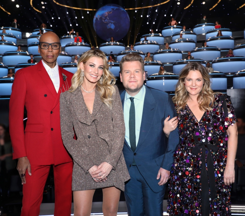 "RuPaul Charles, Faith Hill, James Corden, and Drew Barrymore, ""The World's Best"""