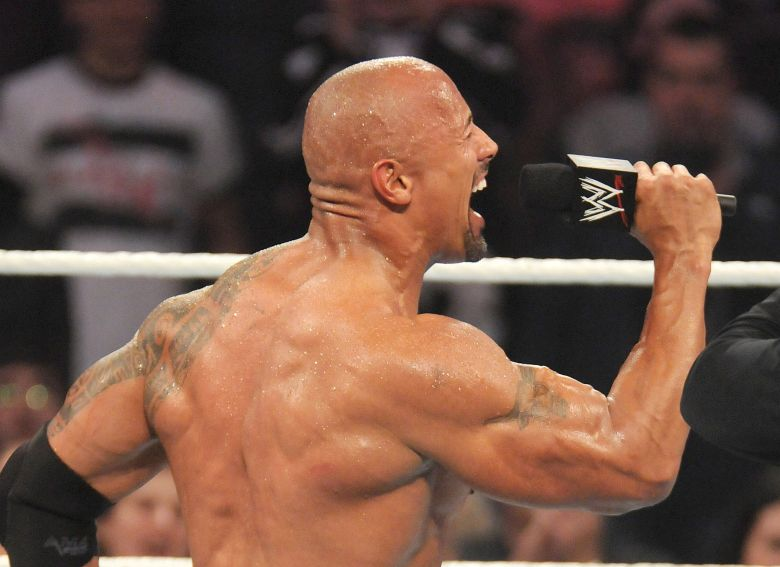 Dwayne Johnson25th Anniversary of Survivor Series at Madison Square Garden, New York, America - 20 Nov 2011
