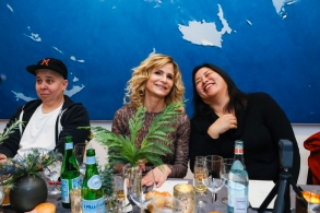 Kyra Sedgwick and guests