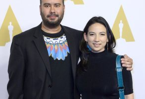 Colombian Director Ciro Guerra (l) Arrives with Producer Cristina Gallego (r) For the Oscar Nominees Luncheon at the Beverly Hilton Hotel in Beverly Hills California Usa 08 February 2016 His Film 'Embrace of the Serpent' is Nominated For Best Foreign Language Film United States Beverly HillsUsa Cinema Oscar Nominees Luncheon - Feb 2016
