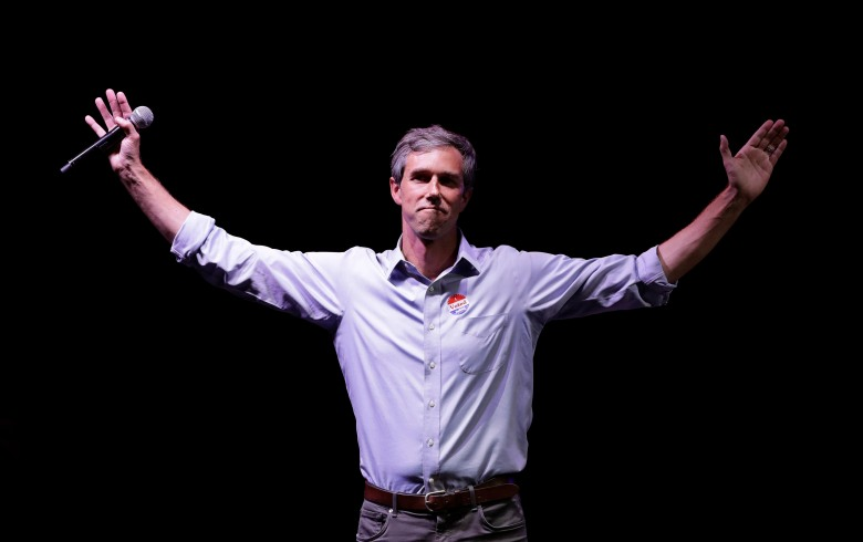 Rep. Beto O'Rourke, D-Texas, the 2018 Democratic Candidate for U.S. Senate in Texas, makes his concession speech at his election night party, in El Paso, TexasElection 2018 Senate O'Rourke Texas, El Paso, USA - 06 Nov 2018