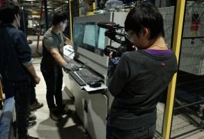 """Yiqian Zhang shooting """"American Factory"""" with a Canon C100 MK 2"""