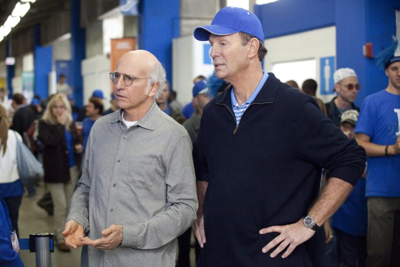 Editorial use only. No book cover usage.Mandatory Credit: Photo by Hbo/Kobal/REX/Shutterstock (5883614l)Larry David, Bob EinsteinCurb Your Enthusiasm - 2011HboUSATelevision
