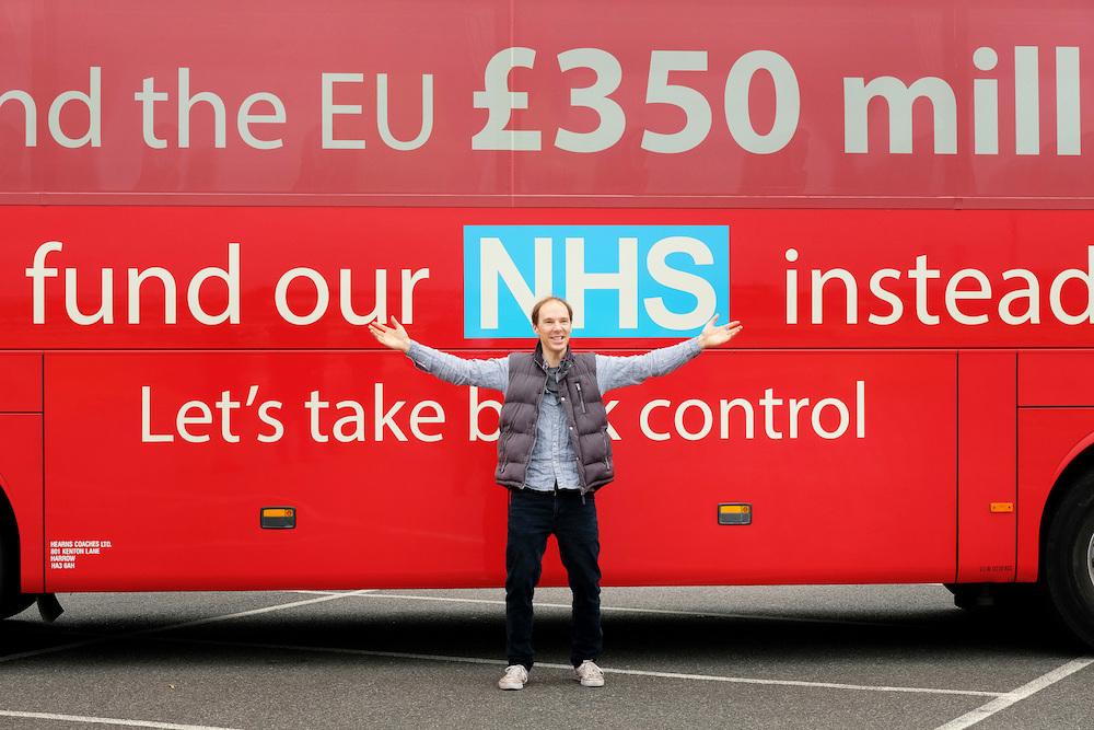 Brexit HBO Benedict Cumberbatch bus
