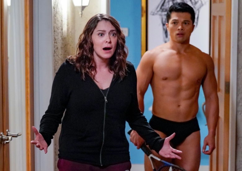 "Rachel Bloom and Vincent Rodriguez III, ""Crazy Ex-Girlfriend"""