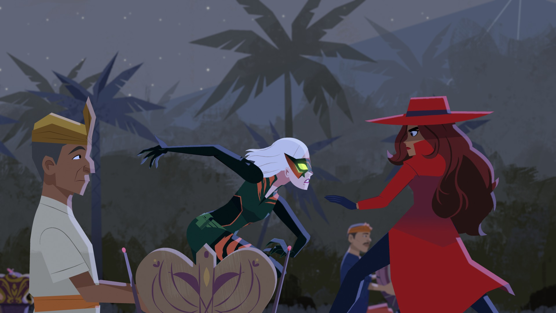 Carmen Sandiego Netflix FIght