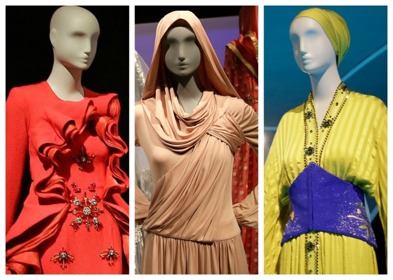 """Contemporary Muslim Fashions"" exhibit at DeYoung Museum"