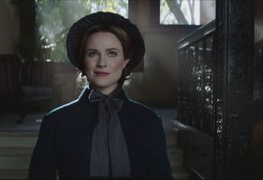 "Evan Rachel Wood as Mary Shelley in ""Drunk History."""
