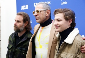 Rick Alverson, Jeff Goldblum and Tye Sheridan