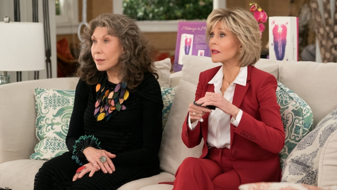 Grace and Frankie Season 5 Review: The End Is Nigh—and High