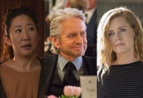 """Killing Eve,"" ""The Kominsky Method,"" and ""Sharp Objects"" Golden Globes 2019 Emmys"