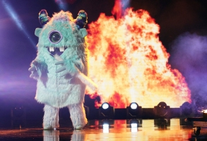 "THE MASKED SINGER: Monster in the all-new ""Five Masks No More"" episode of THE MASKED SINGER airing Wednesday, Jan. 16 (9:00-10:00 PM ET/PT) on FOX. © 2019 FOX Broadcasting. CR: Michael Becker / FOX."