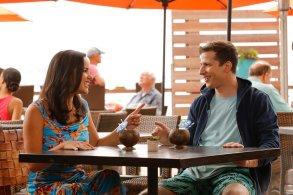 "BROOKLYN NINE-NINE -- ""Honeymoon"" Episode 601 -- Pictured: (l-r) Melissa Fumero as Amy Santiago, Andy Samberg as Jake Peralta Brooklyn 99"