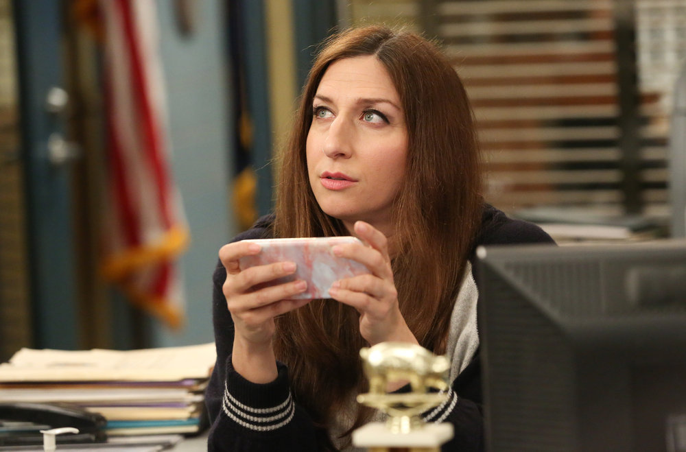 "BROOKLYN NINE-NINE -- ""Honeymoon"" Episode 601 -- Pictured: Chelsea Peretti as Gina Linetti Brooklyn 99"