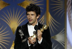 76th ANNUAL GOLDEN GLOBE AWARDS -- Pictured: Ben Whishaw, winner of Best Supporting Actor - Series/Limited Series/TV Movie at the 76th Annual Golden Globe Awards held at the Beverly Hilton Hotel on January 6, 2019 -- (Photo by: Paul Drinkwater/NBC)