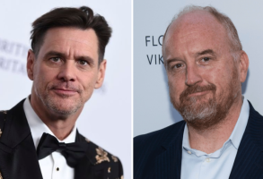 Jim Carrey and Louis C.K.
