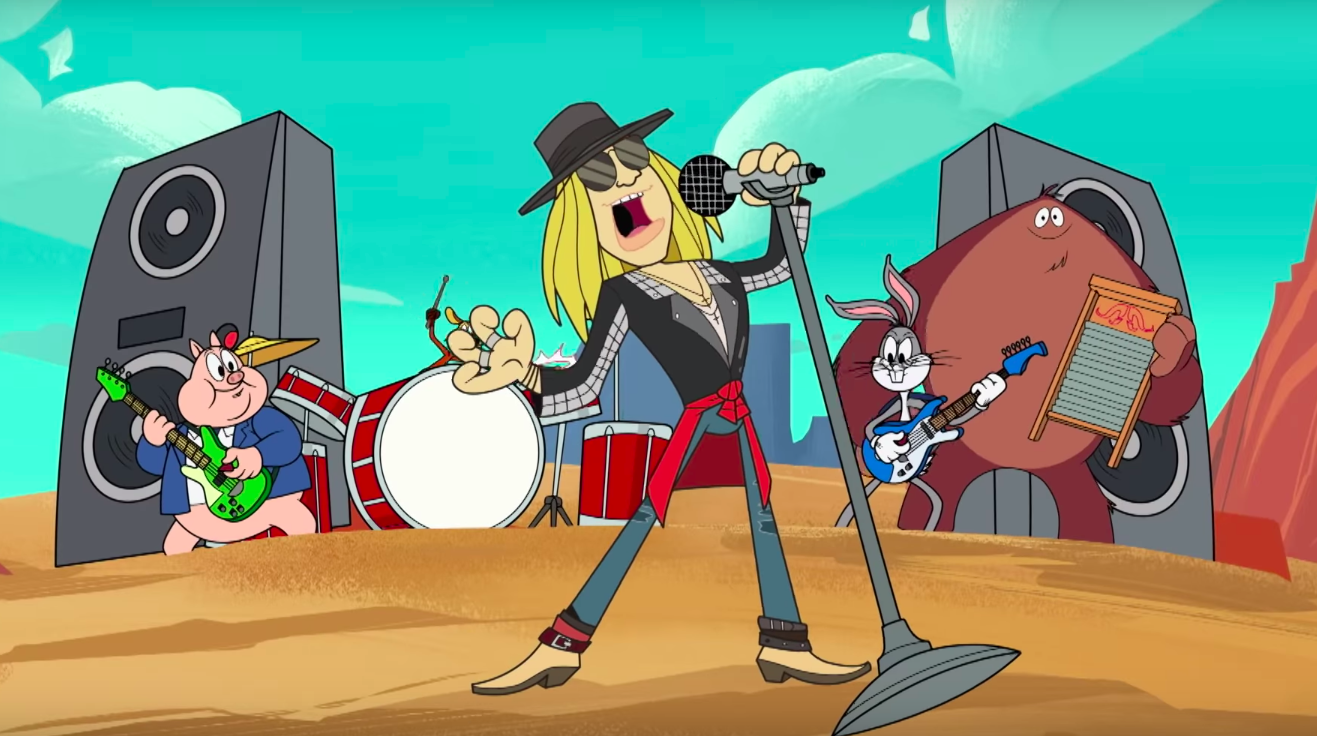 Axl Rose's First New Song in a Decade Features Bugs Bunny and the Looney Tunes — Watch