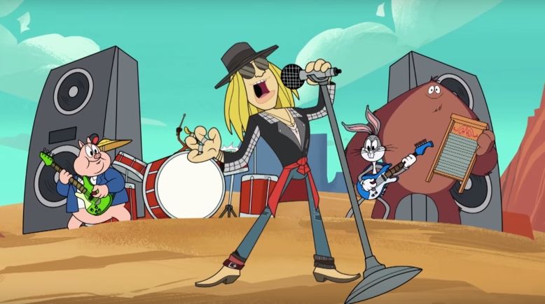 Axl Rose New Looney Tunes