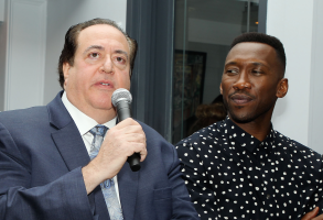 Nick Vallelonga and Mahershala Ali