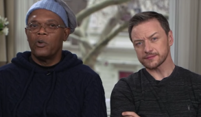 Samuel L. Jackson and James McAvoy
