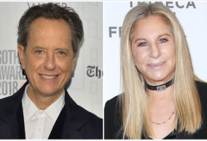 Richard E. Grant, Barbra Streisand