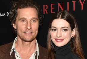 Matthew McConaughey and Anne Hathaway