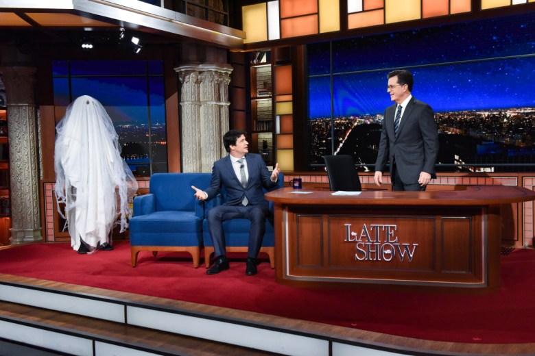 Stephen Colbert Ken Marino Ghost