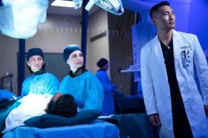 "THE GOOD DOCTOR - ""Episode 215"" (ABC/David Bukach)WILL YUN LEE, FIONA GUBELMANN, DANIEL DAE KIM"