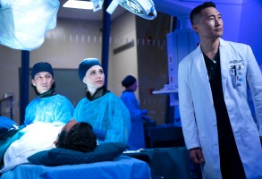 "THE GOOD DOCTOR - ""Episode 215"" (ABC/David Bukach)WILL YUN LEE, FIONA GUBELMANN, DANIEL DAE KIM"