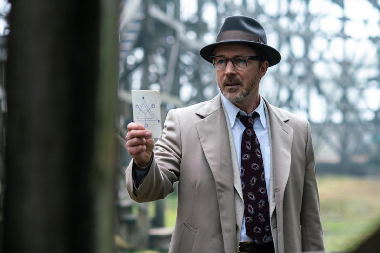 Project Blue Book History Aiden Gillen Season 1