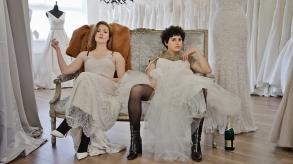 Holliday Grainger and Alia Shawkat appear in Animals by Sophie Hyde, an official selection of the Premieres program at the 2019 Sundance Film Festival. Courtesy of Sundance Institute | photo by Tamara Hardman.All photos are copyrighted and may be used by press only for the purpose of news or editorial coverage of Sundance Institute programs. Photos must be accompanied by a credit to the photographer and/or 'Courtesy of Sundance Institute.' Unauthorized use, alteration, reproduction or sale of logos and/or photos is strictly prohibited.