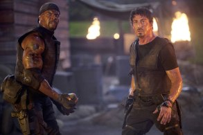 The Expendables Terry Crews Sylvester Stallone